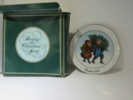 1981 Avon First Edition Christmas Memories Sharing the Christmas Spirit ... - $16.83