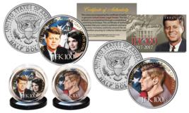 JOHN F. KENNEDY 100th BIRTHDAY 2017 Kennedy Half Dollar 2-Coin U.S. Set ... - $14.80