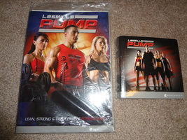 Les Mills Pump 7 DVD Workout Set & Fitness Nutrition Guide Beachbody Rare  - $179.99