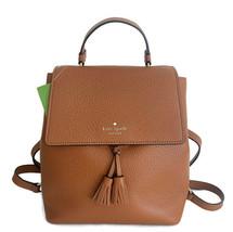 Kate Spade Medium Backpack Bag ~ Warm Gingerbread Leather Bag Hayes New/NWT - $129.95