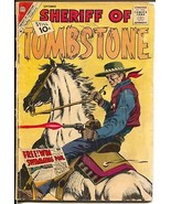 Sheriff of Tombstone #17 1961-Charlton-classic cover-10¢ cover price-G - $22.70