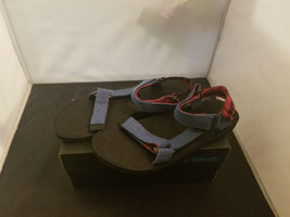 NIB Size 13 Mens Teva Original Universal Workwear Sandal Legion Blue 100... - $33.38 CAD