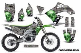 Decal Graphics Kit Wrap + Number Plates For Kawasaki KXF450 2009-2011 CH... - $294.26