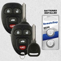 2 For 2004 2005 2006 2007 2008  Chevrolet Malibu - Keyless Remote Car Fo... - $17.81