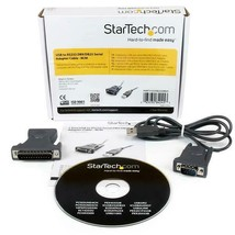 Startech USB to Serial Adapter - 3 ft / 1m - with DB9 to DB25 Pin Adapter - $34.64