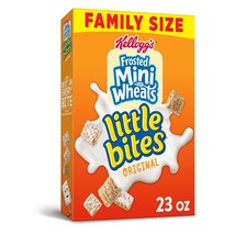 Kellogg's Frosted Mini-Wheats Little Bites, Cereal, Original, Family Pac... - $7.00