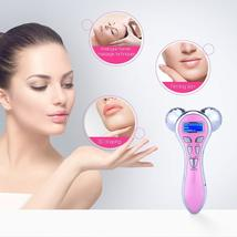 4D 360 Rolling Rotating MicroCurrent Skin Massaging Tightening Device image 5
