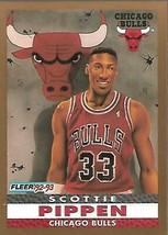 1992-93 FLEER NBA-#254-Scottie Pippen-Bulls-Just Pippen - $4.44