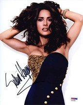 Salma Hayek Very Hot Sgned 8x10 Photo Certified Authentic PSA/DNA COA - $267.29