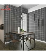 Tile Stickers Waterproof Self Adhesive Wallpaper Living Room Kitchen Bat... - $23.38