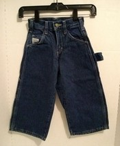 Vtg NOS Pointer Brand Carpenter Blue Jeans Size 2 Boys USA Pants Heavy D... - $58.66