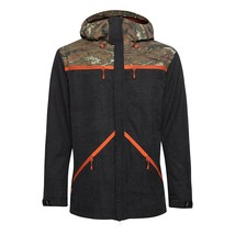 New O'Neill Men's Quest Snowboarding Jacket Black Camo S 550004C Small - $174.95
