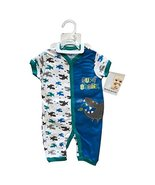 Buster Brown Summer Newborn Clothing 3 Pieces Set with Full Embroidery(0... - $8.99