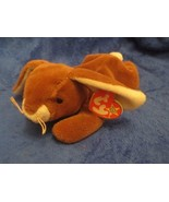 Ty Beanie Baby Ears the Rabbit 4th generation 3rd Generation Tush Tag 19... - $6.92