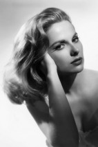 Martha Hyer Beautiful Bare Shouldered Glamour Pose B/W 24x18 Poster - $23.99