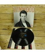 Steve Winwood Roll With It Vinyl Record LP 1988 Rock Pop Music - $9.74