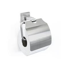 Toilettenrollenhalter mit Abdeckung Ständer Badezubehör wandmontage matt... - $30.95