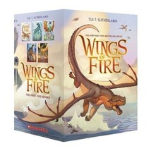 Wings of Fire Book Box Set Series Tui T. Sutherland Stories Paperback 5 Books - $34.92