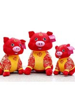 2019 Pig Year Chinese Zodiac Plush Toy Soft Bring Wealth and Good Luck P... - $22.43+