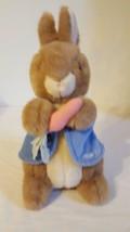"14"" Beatrix Potter Peter Rabbit Eden Plush Stuffed Vintage High Quality - $9.89"