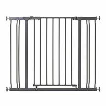 Dreambaby Ava Baby Safety Gate, Fits Openings 29.5-39in Charcoal