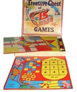 1953 Phillips TREASURE CHEST OF 15 GAMES Complete Board Game - $29.99