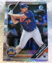 Peter Alonso RC 2019 Bowman Chrome Mojo Refractor Rookie#127 PSA10?Mets ... - $39.59
