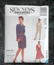 5637 Sew News McCall's Misses' Dresses & Jumpsuit - $2.00