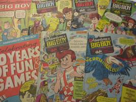 Adventures of the Big Boy Vintage Comic Book Lot Food Premium Promotion 1967 - $52.20