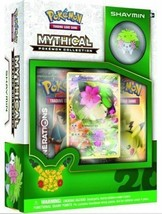 Shaymin Mythical Collection Pin Box Pokemon TCG Generations Packs 20 Ann... - $24.99