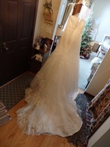 Aire Barcelona Ramo lace wedding gown Gorgeous! Sz 14 - $382.04