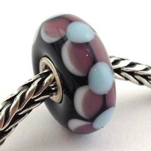 Authentic Trollbeads Murano Glass Dolly Bead Charm 61345, New - $24.92