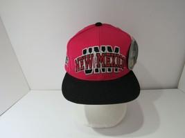 Vintage 90s NCAA University of New Mexico LOBOS Snapback DS Hat Cap NWT - $11.88