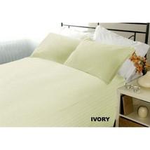 Extra Deep Pocket 4 PC Sheet Set 1200TC Egyptian Cotton US-Size Ivory St... - $70.90+