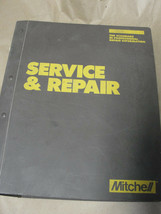 MITCHELL 1987 1988 1989 ELECTRICAL COMPONENT LOCATOR IMPORTED SERVICE  &... - $13.99