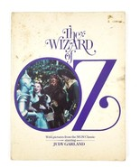 The Wizard of Oz Vintage 1976 Soft Cover Classic MGM Movie Book Black & ... - $14.95