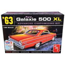Skill 2 Model Kit 1963 Ford Galaxie 500 XL 3-in-1 Kit 1/25 Scale Model b... - $44.23