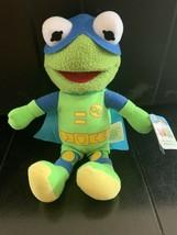 "New Disney Junior Muppet Babies The Froginizer Kermit 9"" Plush Toy! Nwt - $9.49"