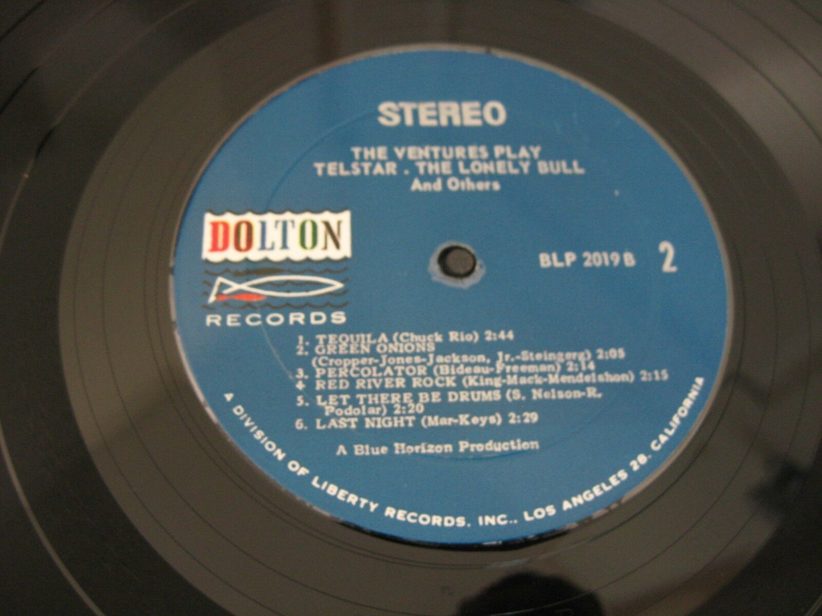 The Ventures Play Telstar Dolton BLP-2019 Stereo Vinyl LP 1st Press Rare Oddity image 5