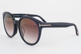 Tom Ford Philippa Black / Brown Gradient Sunglasses TF503 01G - $155.82
