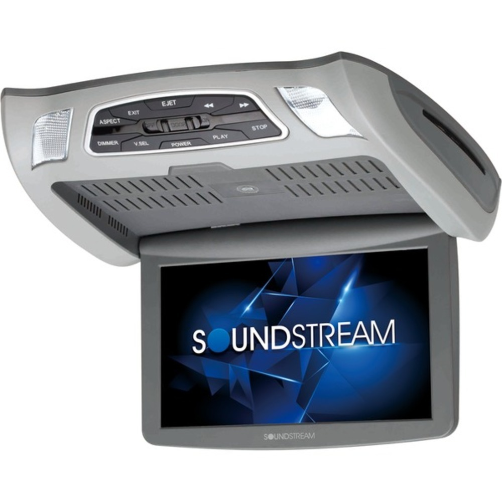 "Primary image for Soundstream VCM-103DM 10.3"" Ceiling-Mount DVD Player with IR and FM Transmitters"