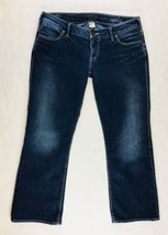 Silver Women's Jeans Size 31 Santorini Boot Cut Stretch Short - $21.00