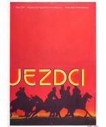 Movie Poster THE HORSEMEN Omar Sharif 1973 Zdenek Ziegler Graphic Designer - $228.00