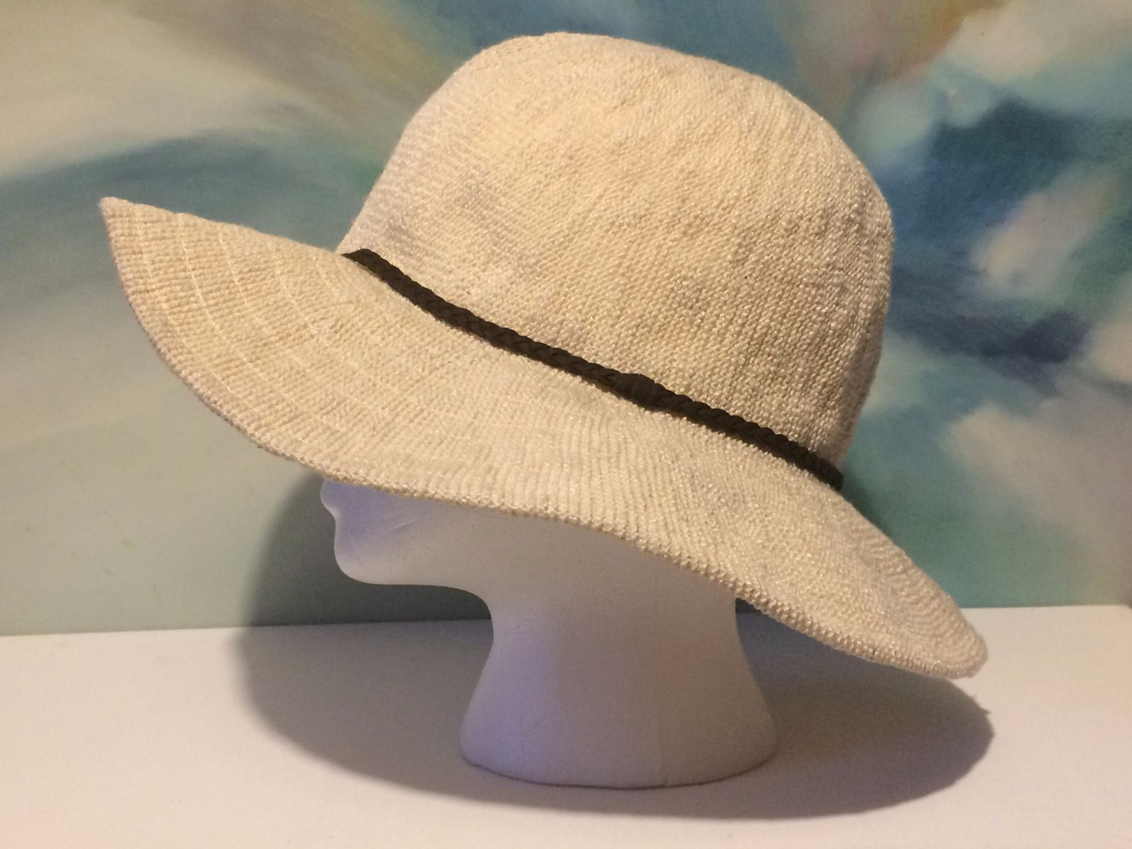 facf75cc13123 Forever 21 Women hat NWT Floppy wide brim and 50 similar items