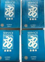 2000 Chevrolet & GMC C/K Truck & Shop Workshop Repair Service Manual Set - $287.05