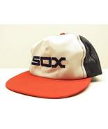 VTG McDonald's MLB Chicago White Sox Blue, Red, & White Snap Back Baseba... - $29.65