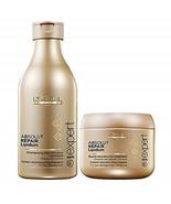 Loreal Professional Absolute Repair Lipidium Shampoo 250 ml + Mask -196 ... - $42.46