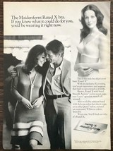 1972 Maidenform Rated X Bra Print Ad If You Knew What It Could Do For You - $10.69