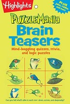 Brain Teasers: Mind-boggling quizzes, trivia, and logic puzzles Highligh... - $5.10
