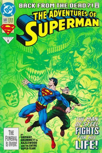 Adventures of Superman (1987 series) #500 DC Comics - Back from the Dead